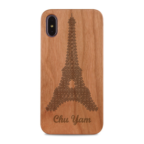 Custom - Wooden Case (Engraved) W10