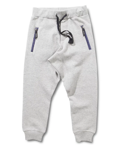 Bread n Butter Grey Marle Trackie