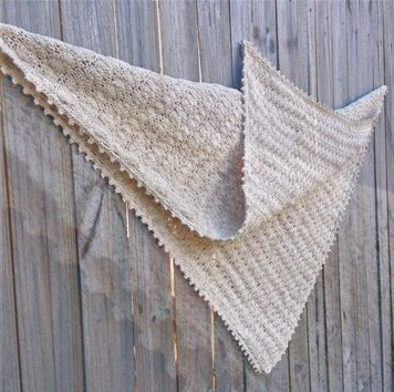 Natural Seashell Blanket