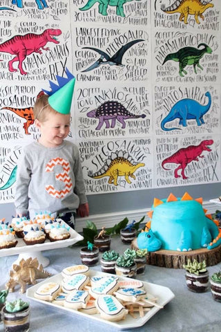 Dinosaur boys  Birthday shirts from etsy