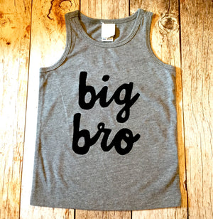 Big bro lil sis tank top shirt