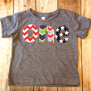 one shirt for boys 1st Birthday Shirt 1 year old wood deer elk buck tee pee wild and free animals forrest arrow star chevron red navy grey