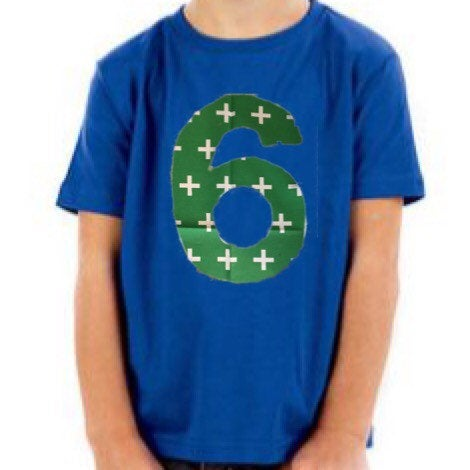 Green birthday shirt, 6th birthday outfit, 6 year old boy, 1st 2nd 3rd, one, two, three, 1, 2, 3, kelly swiss cross on royal blue party