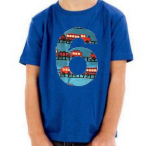 train birthday shirt, 6th birthday outfit, tank engine locomotive, 6 year old boy, 1st 2nd 3rd, one, two, three, 1, 2, 3, first second third
