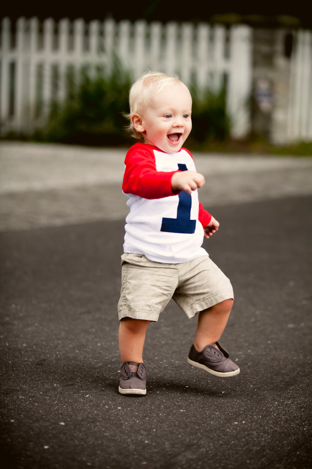 My First Birthday shirt Red and White Raglan Shirt- Raglan 1st Birthday Shirt Boys one cake smash one year old navy blue 1 birthday sports
