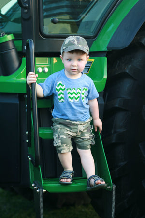 tractor two Birthday Shirt