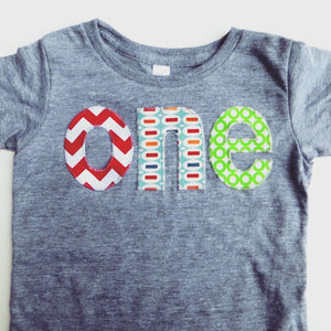 Cake Smash birthday shirt Chalkboard one lowercase birthday outfit red chevron pez green circles boys 1st Birthday Shirt yellow aqua blue