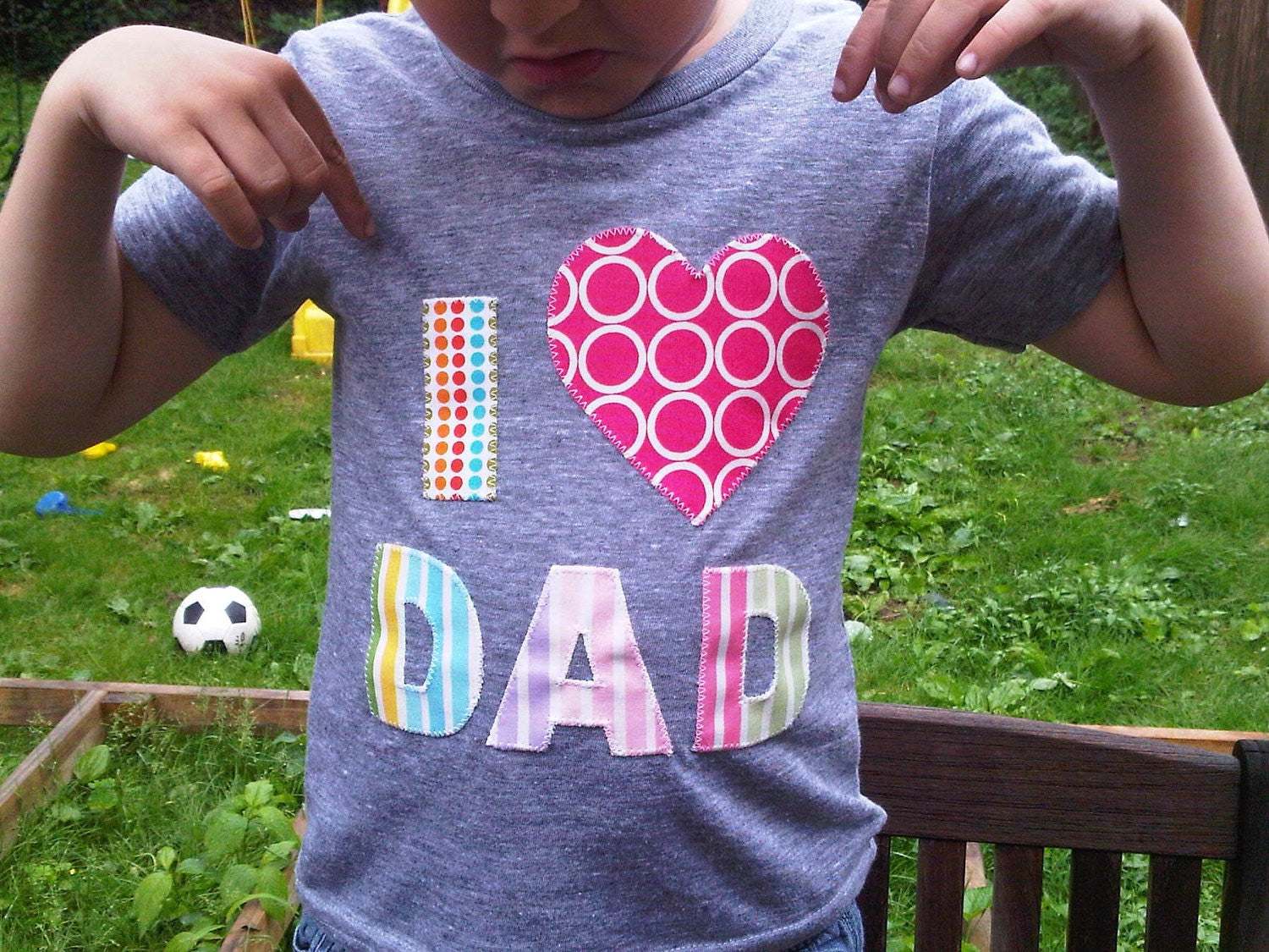 Rainbow Heart outfit, Valentine's Day Fathers Day Heart shirt, Dad LOVE, daddy gift, unicorn Father's Day