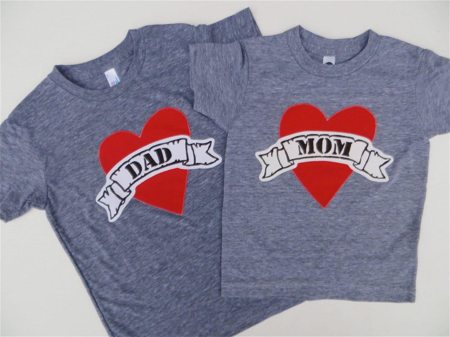 Tattoo Heart outfit, Valentine's Day Fathers Day Heart shirt, Dad LOVE, daddy gift, Father's Day
