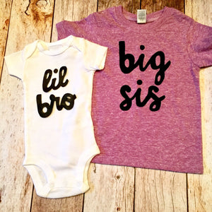 Big sis lil bro outfit set