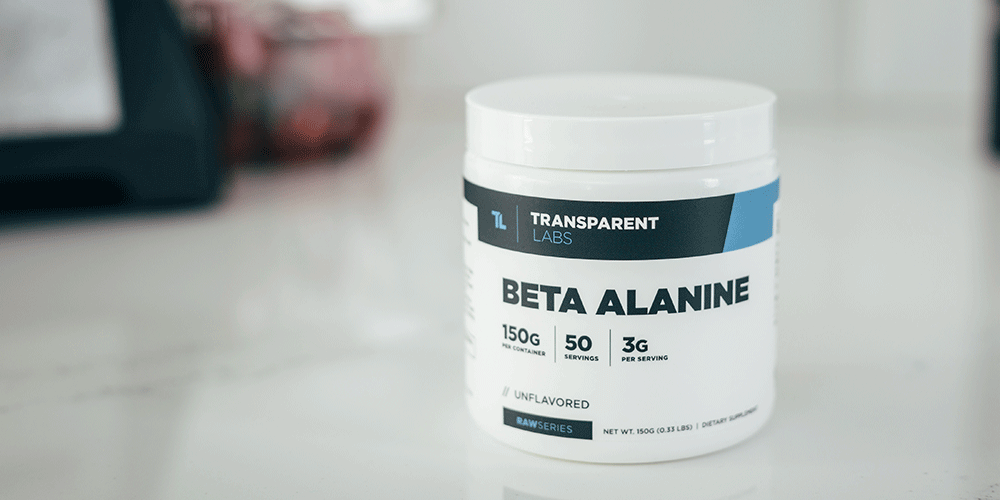Is Beta Alanine The Best Pre Workout Ingredient Transparent Labs