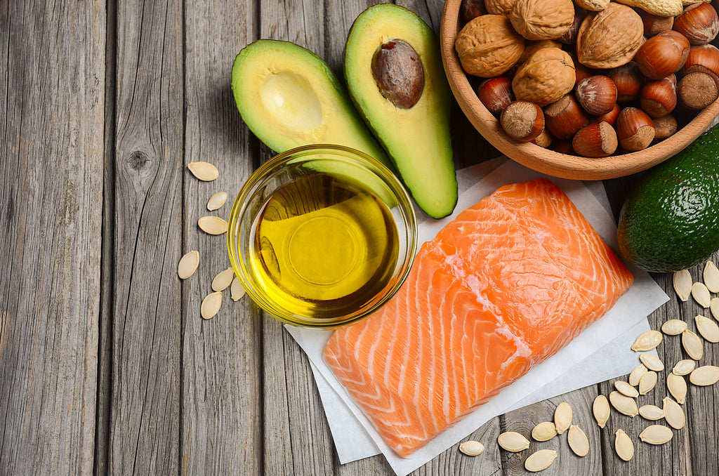 How to get shredded: Healthy fats, including avocado, olive oil, nuts, and fatty fish