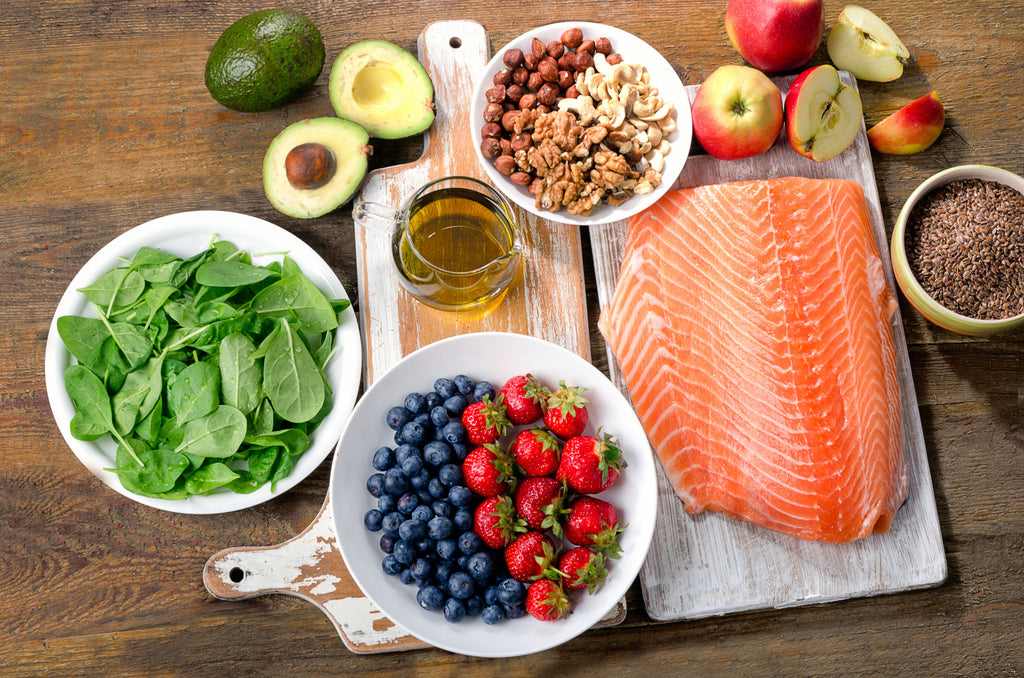 How to get shredded: Healthy foods, including fruits, vegetables, and healthy sources of fat