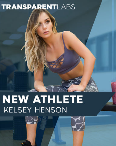 KELSEY HENSON has joined the Transparent Labs family.