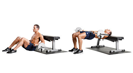 Barbell Hip Thrusters
