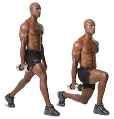 Dumbbell Split Side Squats