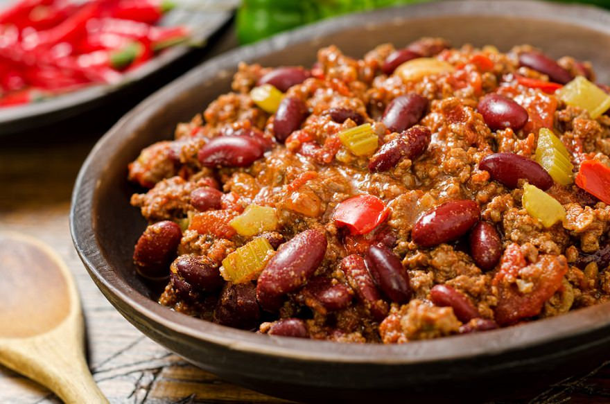 Chili Recipe High Calorie