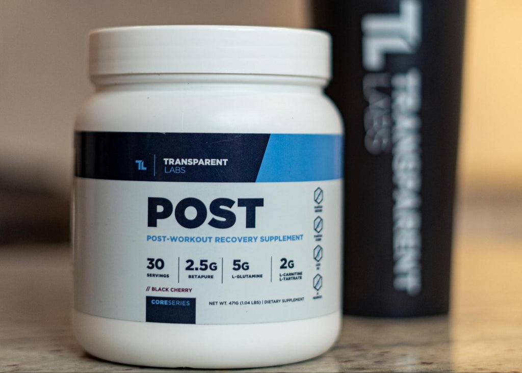 Best post workout supplement: Post workout recovery supplement bottle