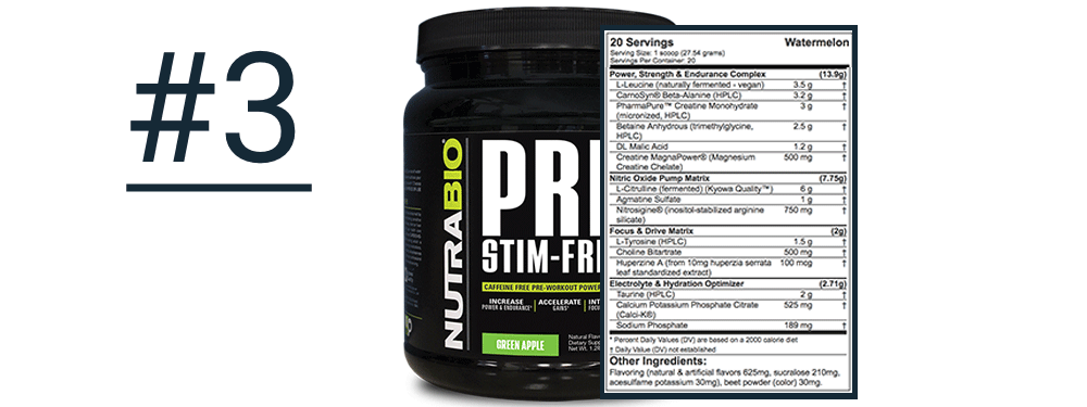 Finding the Best Pre-Workout for Your Needs - Transparent Labs