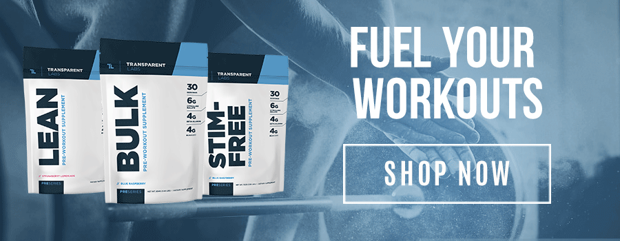fuel your workouts with a one of our top selling pres