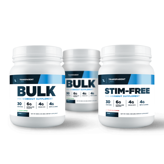 3 Month Cycle PreSeries BULK Pre-Workout
