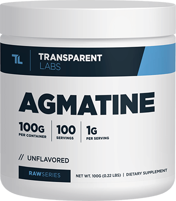 Tub of RawSeries Agmatine