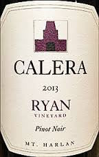 Calera Pinot Noir Ryan Vineyard