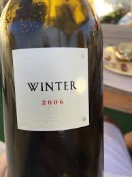 Winter Cabernet Sauvignon 2006