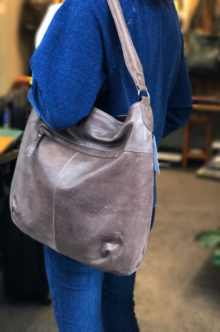 Rugged Hide RH-2221 Brooke Leather Shoulder Bag