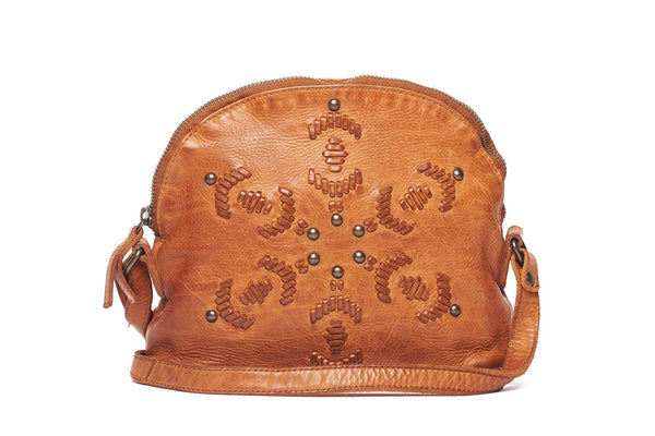 Rugged Hide Monica RH-41300 with Leather Stitching and Stud Design