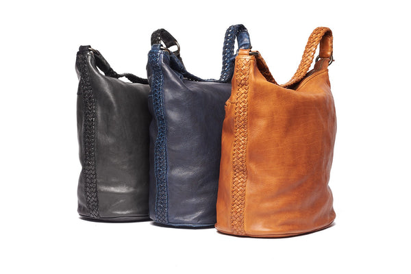 Rugged Hide Danielle RH-41308 Large Hobo Leather Bag