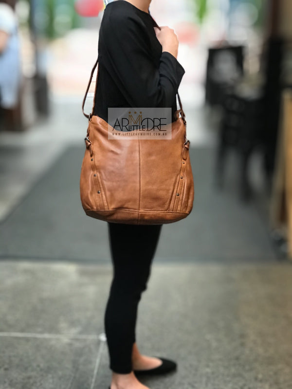 Rugged Hide Sicily RH-36266 Large Ladies Leather Bag - Little Armoire - Online Leather Goods Store Australia