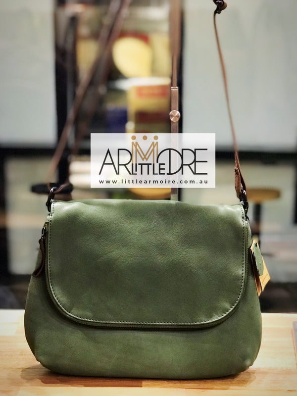 Rugged Hide Verona RH-3014 Ladies Cross Body bag - Little Armoire - Online Leather Goods Store Australia