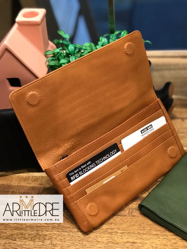 Rugged Hide RH-3018 Vera Slim & Soft Leather Wallet - Little Armoire - Online Leather Goods Store Australia