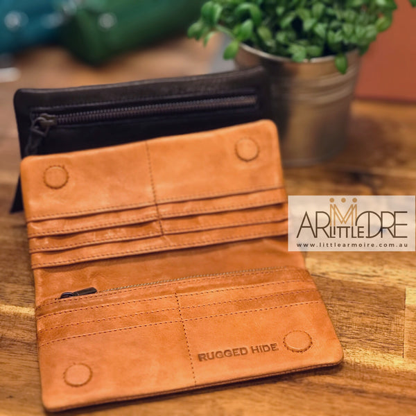 Rugged Hide RH-2167 Martina Soft Leather Wallet - Little Armoire - Online Leather Goods Store Australia