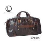 Oran Leather OB-17336 Leather Travel Bag / Luggage