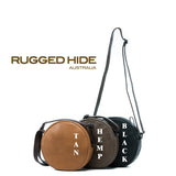 Rugged Hide RH-3008 Ashley Classic Ladies Round Shaped Cross Body Bag