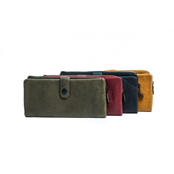 Rugged Hide RH-2009 Camelia Lightly textured Waxy Leather Bi-fold Wallet - Little Armoire - Online Leather Goods Store Australia