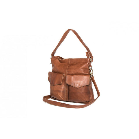 Rugged Hide RH-10744 Albany Shoulder Leather Bag