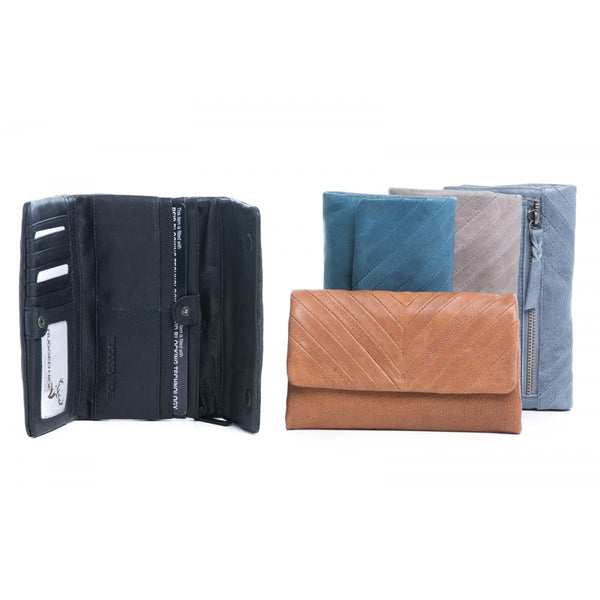 Rugged Hide RH-2242 Charlotte Soft Leather Wallet