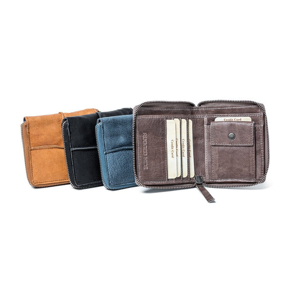 Rugged Hide RH-650 Alexia Small Soft Leather Wallet