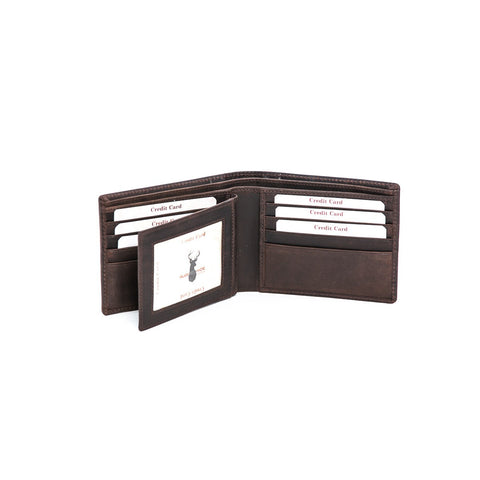 Rugged Hide RH-8161 Kevin Leather Wallet