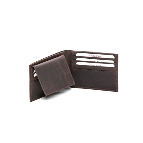 Rugged Hide RH-8169 George Leather Wallet
