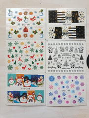 XMAS - Water transfer decals #5