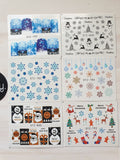 XMAS CLEARANCE - Water transfer decals #5