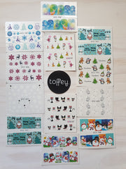 XMAS  - Water transfer decals Kids Christmas