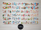 XMAS  - Water transfer decals sheet christmas