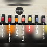 Full 48 colour collection with base, top and matt top coat