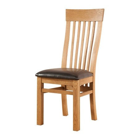 Avon Oak Curved Back Dining Chair