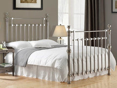 TIME LIVING Edward Chrome Metal Bed Frame